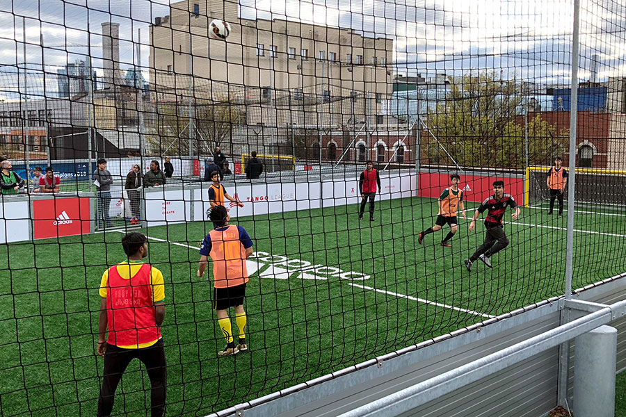 Rooftop Soccer in New York
