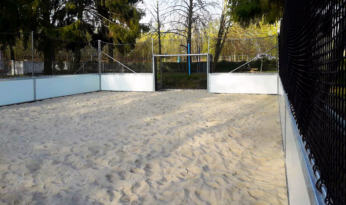 Beach Soccer Court Rostock