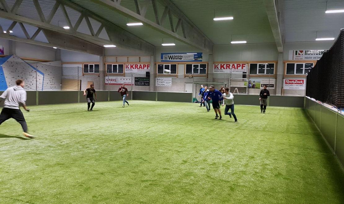 Indoor Soccerfield für ESV Mitterskirchen