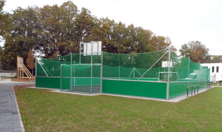Multisport-Kleinspielfeld für Englische Schule in Lippstadt