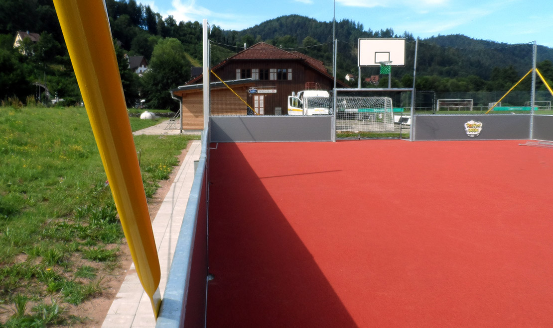 """Sportanlagen """"Vor Kuhbach"""" in Schiltach"""