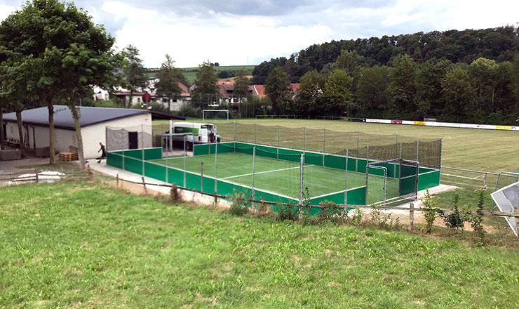 SoccerGround Kleinspielfeld für HSV Hegensdorf