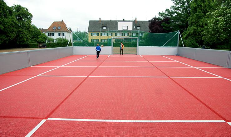 Schönbergschule erhält Arena für Multisport