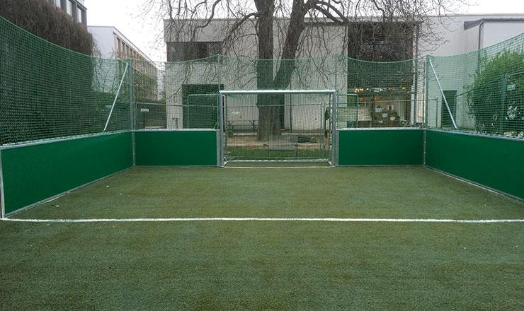 Mini-Fußballfeld für Kita Spatzennest Augsburg