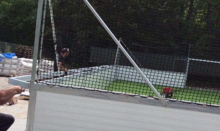 SoccerBox in der Oettingenstrasse in München
