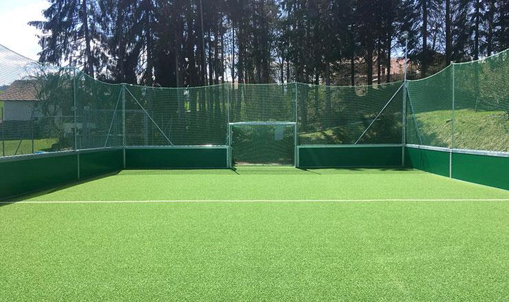 Freistehender Soccer-Court für ASV Martinszell