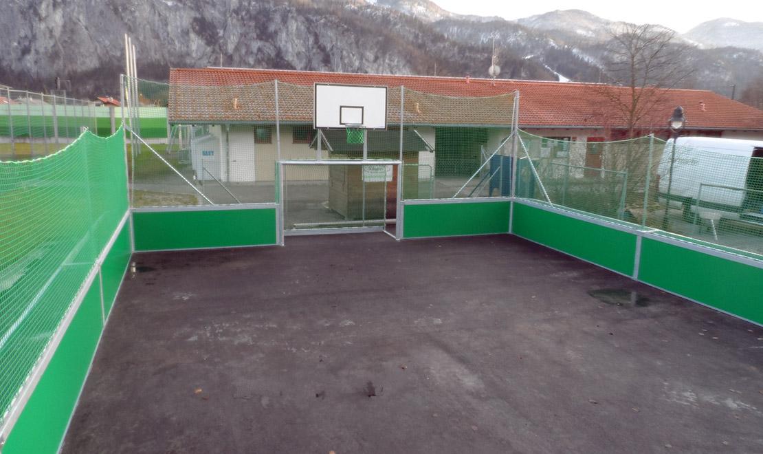 Gemeinde Kiefersfelden mit neuem Soccer-Spielfeld