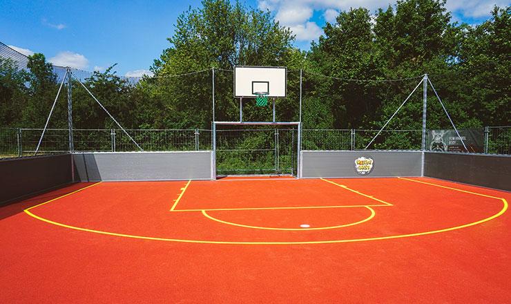 Multisport-Kleinspielfeld für Bindlach