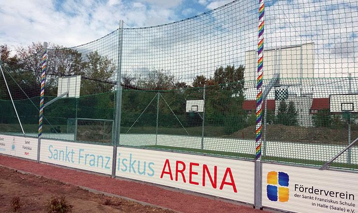 Franziskus-Arena für Grundschule in Halle (Saale)